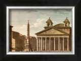 View of the Pantheon Posters by Alessandro Antonelli