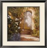 Garden Door, Broughton Castle Posters by Michael Felmingham
