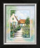 Sunny Garden Prints by Johan De Jong