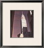 Chrysler Building Architecture Poster by Phil Maier