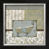 Country Style Bath II Posters by Carol Robinson