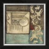 Damask Tapestry with Capital I Prints by Jennifer Goldberger