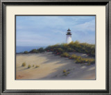 Lighthouse on the Shore Prints by Vivien Rhyan