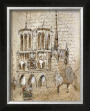 Notre Dame Prints by Elizabeth Jardine