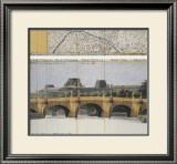 Le Pont Neuf Wrapped II Poster by  Christo