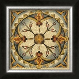 Crackled Cloisonne Tile III Art by Chariklia Zarris