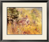 The Plantation Church Art by Alice Huger Smith