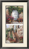 Stone Stairway Art by Roger Duvall