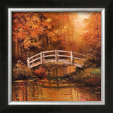 Wooden Bridge Prints by T. C. Chiu