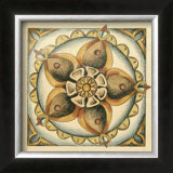 Crackled Cloisonne Tile V Prints by Chariklia Zarris