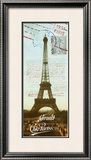 Panel Chic Parisien Prints by Krissi 