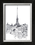 Eiffel Tower Prints by Avery Tillmon
