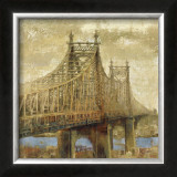 East River Bridge II Prints by Michael Longo