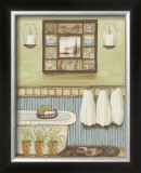 Seabreeze Bath II Posters by Wendy Russell