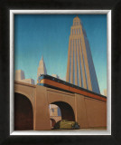 Overpass Poster by Robert LaDuke