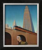 Overpass Poster by Robert LaDuke