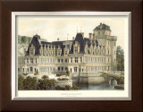 Petite French Chateaux V Posters by Victor Petit