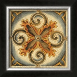 Crackled Cloisonne Tile VI Poster by Chariklia Zarris