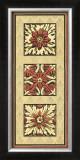 Rosette Tapestry I Prints
