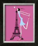 Bisou Posters by Emmanuelle Teyras