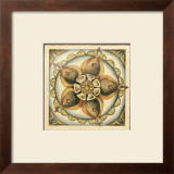 Crackled Cloisonne Tile V Print by Chariklia Zarris