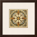 Crackled Cloisonne Tile III Poster by Chariklia Zarris