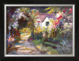 Garden Bench Prints by Dawna Barton