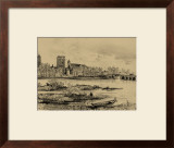 Riverside Estate I Prints by Albert Robida
