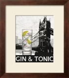 Gin and Tonic Destination Art by Marco Fabiano