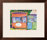 Lei Stand Framed Giclee Print by David Gregory