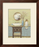 Seabreeze Bath I Prints by Wendy Russell