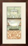 Damask Bath I Posters by Laura Nathan