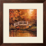 Wooden Bridge Posters by T. C. Chiu