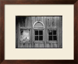 Barn Windows I Print by Laura Denardo
