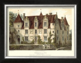 Petite French Chateaux VI Prints by Victor Petit