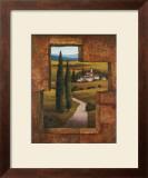 Tuscan Villa I Poster by T. C. Chiu