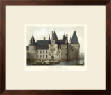 Petite French Chateaux II Posters by Victor Petit