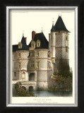 Petite French Chateaux XII Posters by Victor Petit