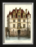 Petite French Chateaux IX Prints by Victor Petit