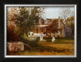 The Old Homestead Prints by June Dudley