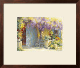 Un Nouveau Printemps Print by Johan Messely