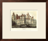 Petite French Chateaux VII Poster by Victor Petit
