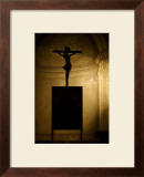 Crucifiction of Christ Church Framed Giclee Print by Charles Glover