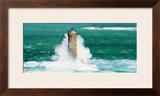 Phare du Four Print by Thierry Martinez