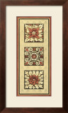 Rosette Tapestry II Art