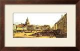 Dresden Altmarkt Prints by Canaletto
