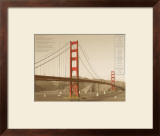 Golden Gate Architecture Print by Phil Maier