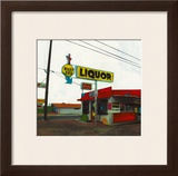 Route 66: West End Liquor Art by Ayline Olukman