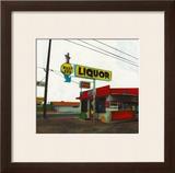 Route 66: West End Liquor Art by Ayline Olukman