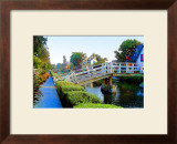 Timbering Bridge Framed Giclee Print by Jack Heinz